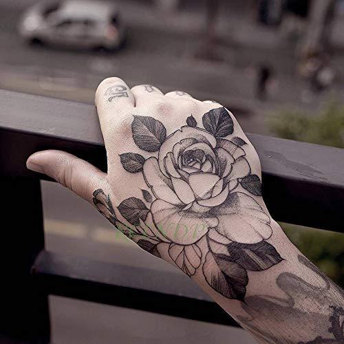 tzxdbh 3 Piezas Impermeables Tatuajes temporales de Tatuajes ...