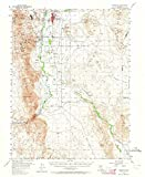 yerington nv - Nevada Maps | 1957 Yerington, NV USGS Historical Topographic Map |Fine Art Cartography Reproduction Print
