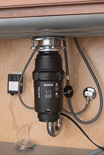 Moen GXP33C GX PRO Series 1/3 hp Garbage Disposal by Moen (Image #1)
