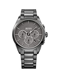 Hugo Boss Mens Onyx Analog Dress Quartz Watch (Imported) 1513364