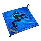 Frogger Golf Wet and Dry Amphibian Towel - Blue/Black