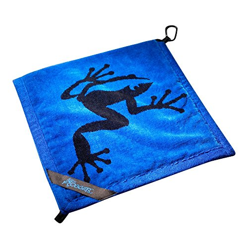 Frogger Golf Wet and Dry Amphibian Towel - Blue/Black