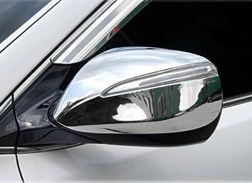 Front Chrome Side Mirror Bracket Molding 6p For 2013 2015 Hyundai Santa Fe SPORT
