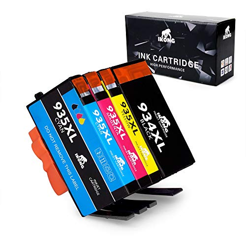 IKONG 934 XL Compatible Replacement for HP 934 935 934XL 935XL Ink Cartridges work with HP Officejet Pro 6830 6230 6835 6812 6815 6820 6220 Printers