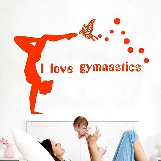 Zaosan Etiqueta engomada de la Yoga de la Pared del ...