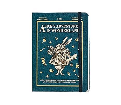 New Version of Alice in Wonderland New Year Agenda Undated Planner Scheduler Monthly Weekly Daily Scheduler Academic Planner Organizer Diary Journal ...