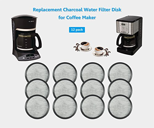 Mr Coffee Espresso Maker Filter : Everyday 12-Replacement Charcoal Water Filters for Mr. Coffee Machines New eBay