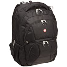SwissGear SA1908 ScanSmart Backpack (Black) Fits Most 17 Inch Laptops