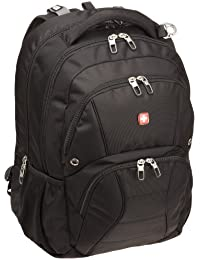 SA1908 Black TSA Friendly ScanSmart Laptop Backpack -...