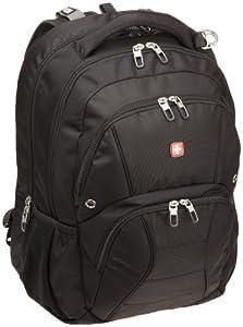 Amazon.com: SwissGear SA1908 Black TSA Friendly ScanSmart Laptop ...