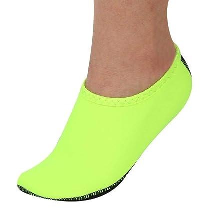 gotd Hombres Calcetines Yoga para mujer sandalias zapatos de surf playa, Snorkeling natación buceo nadar