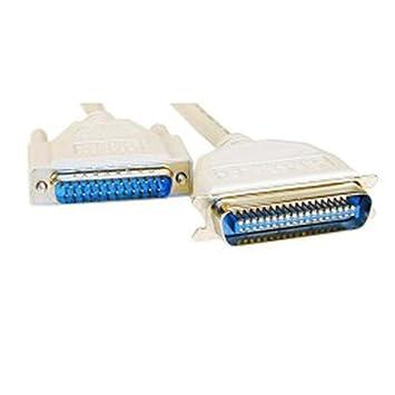 Cable paralelo D-SUB 25 pin DIGITUS AK-610201-020-E blanco