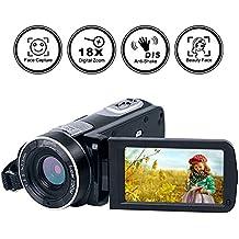 Video Camera Camcorder Full HD Digital Camera 1080p 24.0MP Night Vision Vlogging Camera 18X Digital Zoom With Remote Control