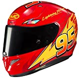 HJC RPHA Unisex-Adult Full Face RPHA-11 Pro PIXAR CARS Lightning McQueen Helmet (MC-1, Large)