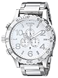 NIXON wristwatch 51-30 CHRONO skin tea one Thirty Chrono HIGH POLISH / WHITE NA083488-00 Men's