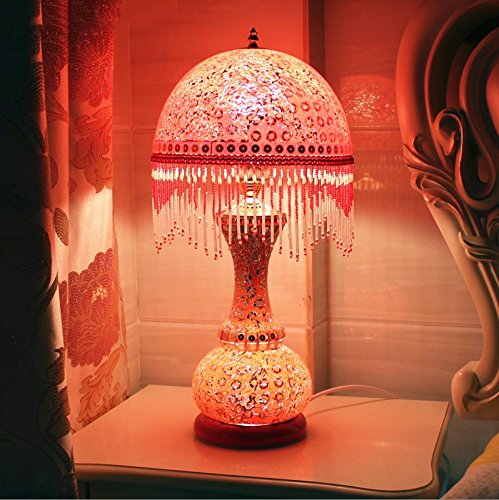 HH European Style Table Lamp Bedroom Bedside Creative Luxury Lighting by FJB (Image #1)