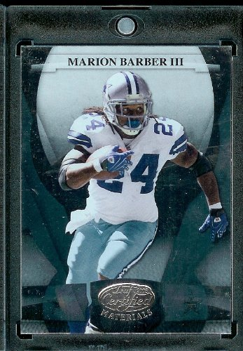 2008 Donruss Certified Football - 2008 Leaf Certified Materials # - Marion Barber/Dallas Cowboys/Football Card