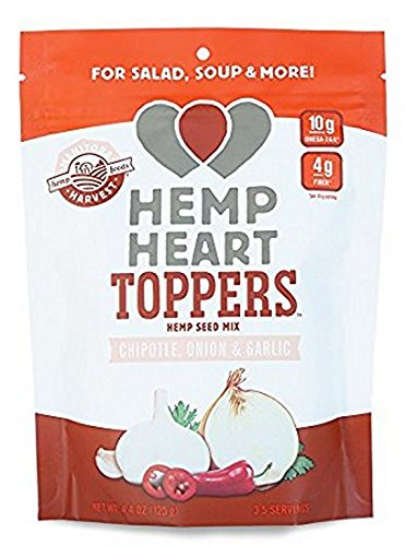 TOPPERS, HMP HRT, GRLC&RSMR , Pack of 12 by Manitoba Harvest