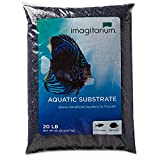 buy Imagitarium Frosted Black Aquarium Gravel, 20 LBS now, new 2019-2018 bestseller, review and Photo, best price $19.99
