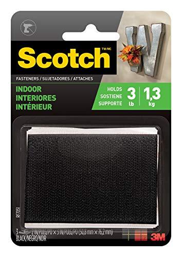 (Scotch Multi-Purpose Fasteners, 2  x 3 Inches, 3 Sets per Pack)