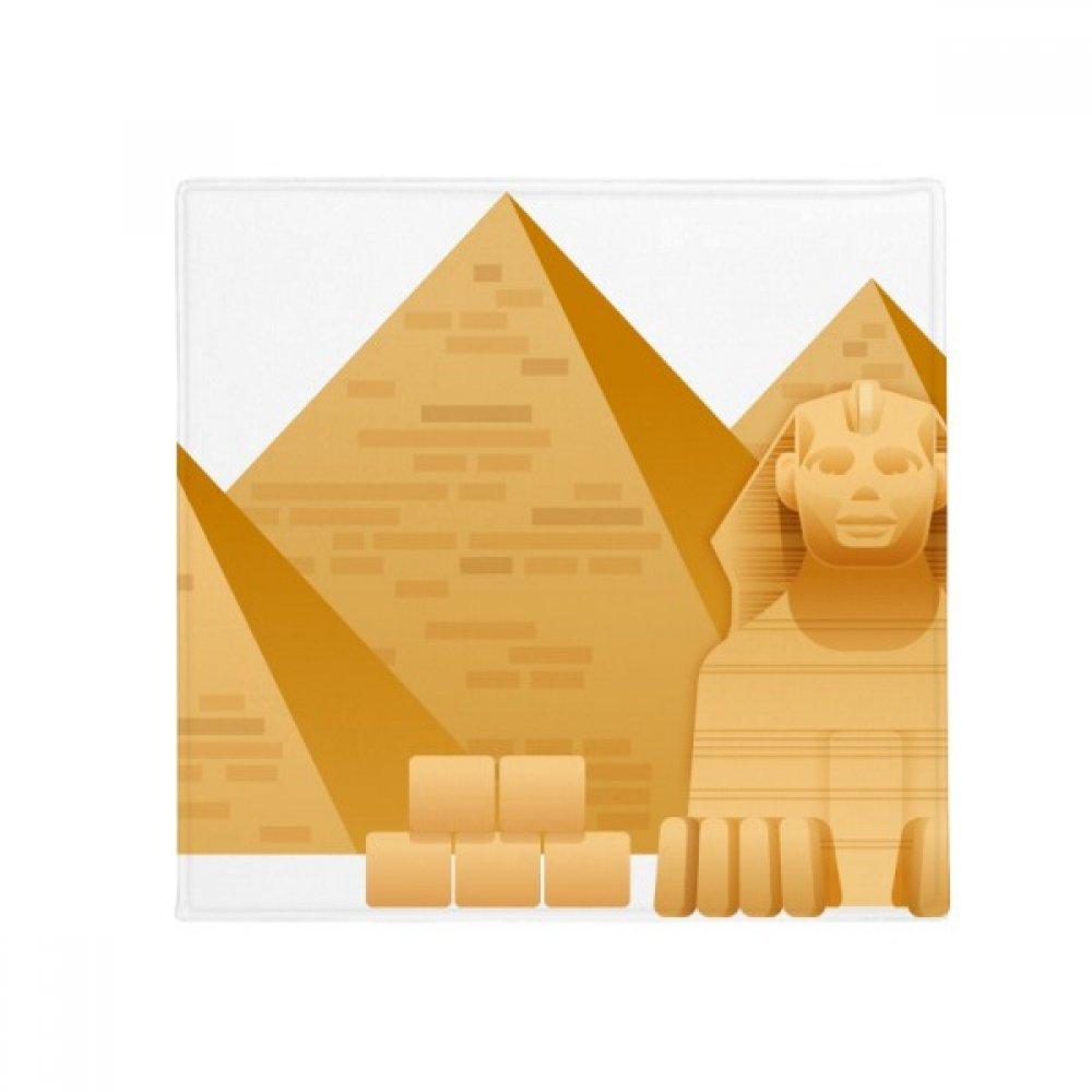 DIYthinker Egypt Pyramid Sphinx Art Pattern Anti-Slip Floor Pet Mat Square Home Kitchen Door 80Cm Gift