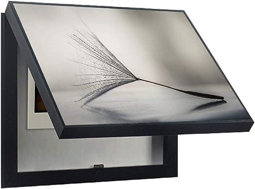 LITING Caja de medidor eléctrico Pintura Decorativa Caja vacía ...