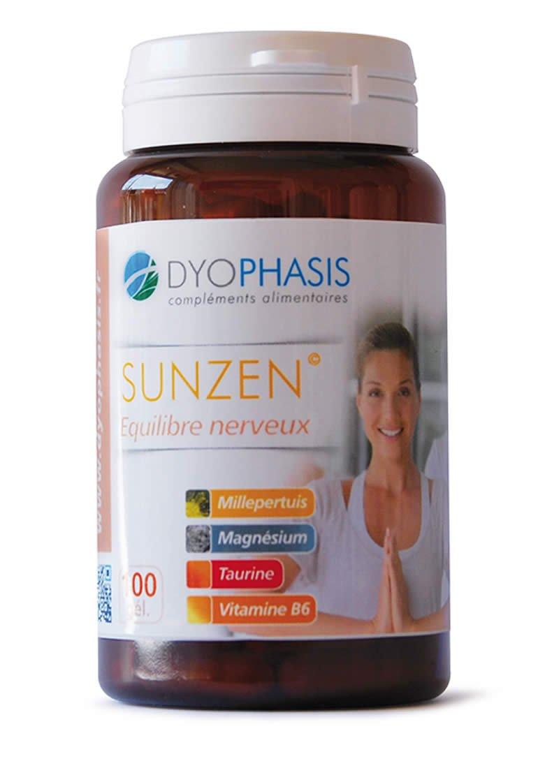 sunzen anti Stress | Hipérico | l-taurine | Magnesium bisglycinate | vitamina B6: Amazon.es: Salud y cuidado personal