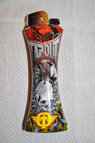 TAPOUT GIANT JUMBO SIZE CURVE LIGHTER WITH BOTTLE OPENER (Without Gas)