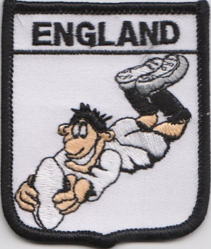 1000 Flags England Rugby Union Flag Embroidered Patch Badge