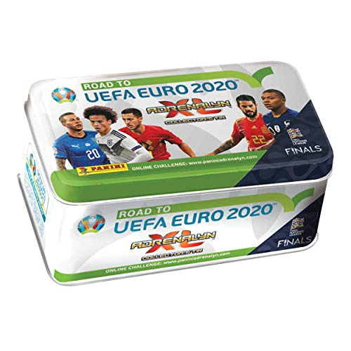 2020 Panini - Panini Road to Euro 2020 Adrenalyn XL 2019 Classic Tin