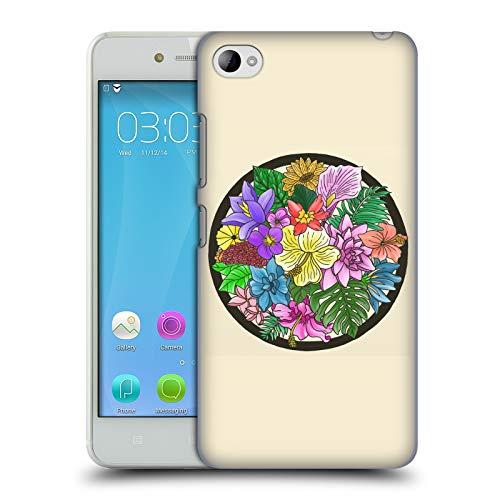 Official 20SomethingArt Flower Painting Pretty Colour Hard Back Case for Lenovo S90 Sisley