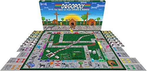 (Dogopoly - the Game of High Steaks & Bones!)