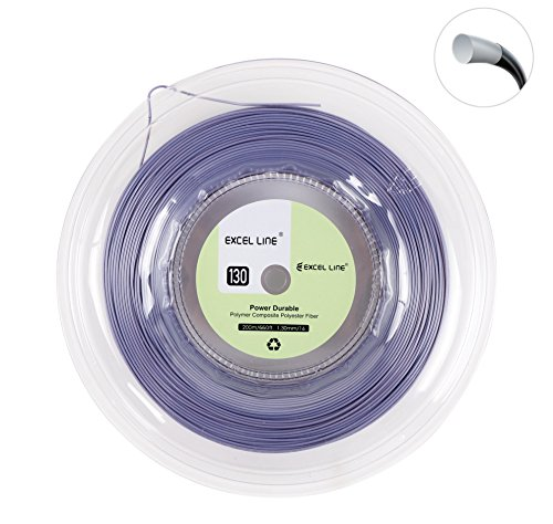 Excel Line 660FT Premium Reel Tennis Racquet String -1.30mm/16 Power Durable