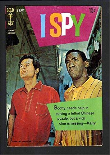 I SPY #6 5.5 VGF 1968 GOLD KEY TV CIA BILL COSBY ROBERT CULP PHOTO (Bill Cosby Robert Culp Photo)
