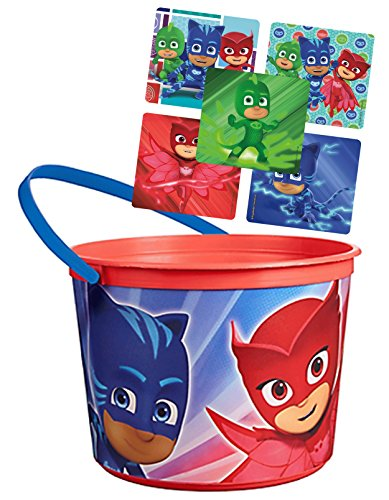 e4a70b4eacd4c PJ Masks Favor Container Bucket Featuring Cat Boy