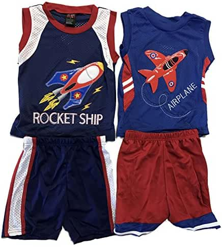 At The Buzzer Two Piece Short Set (Pack of 2)