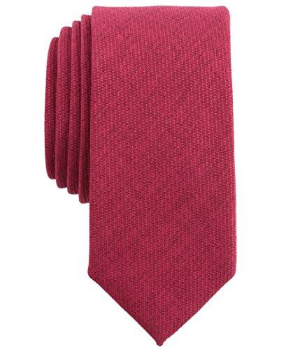 Original Penguin (PENH8) Men's Pique Solid Tie, red, One Size