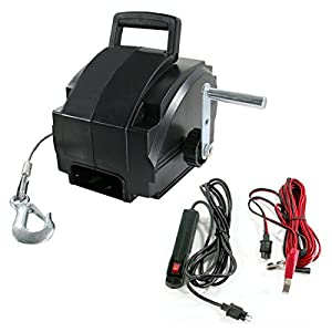 Sportsman EWINCH 2000-Pound Portable Electric Winch