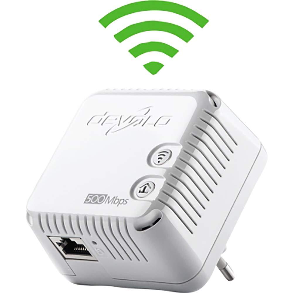 Bridge Devolo WLAN Kompakt Starter Kit an Wandsteckdose anschlie/ßbar 2,4 GHz HPAV - 802.11bgn HomePlug AV