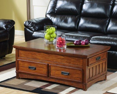 Amazoncom Ashley Furniture Signature Design Cross Island Coffee