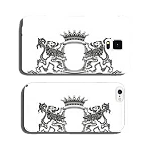 HERALDRY Crest with lions cell phone cover case iPhone6