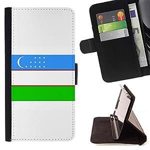 Kingstore / - La bandera de País de Uzbekistán - Sony Xperia Z2 D6502