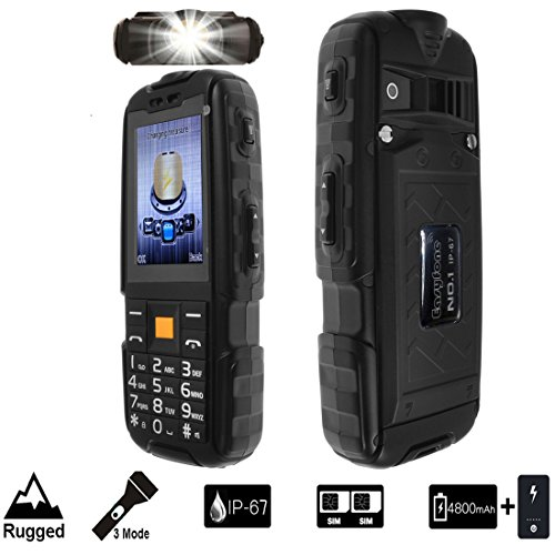 Easyfone No.1 Multifunctional Rugged Tough Unlocked Cell Pho