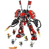 LEGO Ninjago Movie Fire Mech 70615 Building Kit (944 Piece)