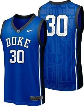 9c99b3d4cd17 Duke Blue Devils  30 Nike Royal Toddler Kid s Basketball Jersey (2T ...