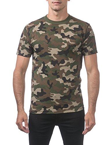 rt Cotton Short Sleeve T-Shirt, X-Large, Green Camo ()