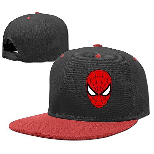 Child Famouse Hero Spider Man Face Mask Starter Baseball Snapbacks Hip-Hop Caps