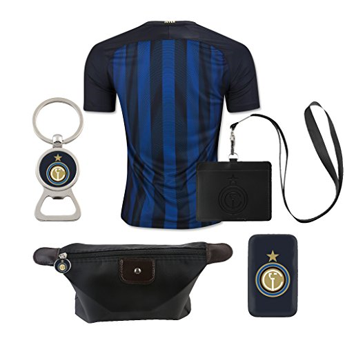 (6 in 1 Combo) Inter Milan Home Match Adult Soccer Jersey...