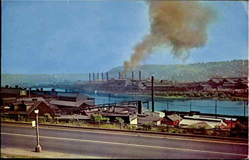 The Steel Mills Pittsburgh, Pennsylvania Original Vintage - Mills Pittsburgh