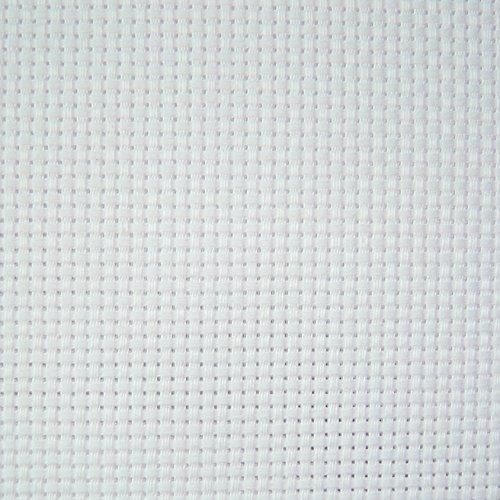 11Count Baumwolle Aida Stoff Textilien Craft Kreuzstich Mustertuch weiß 100cm x 50cm